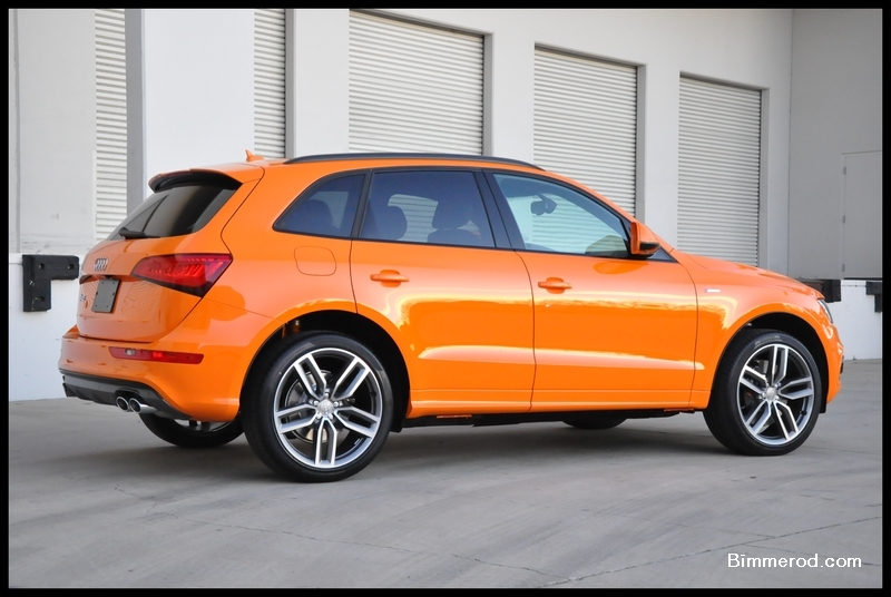 Vwvortex Com 2015 Sq5 In Audi Exclusive Solar Orange