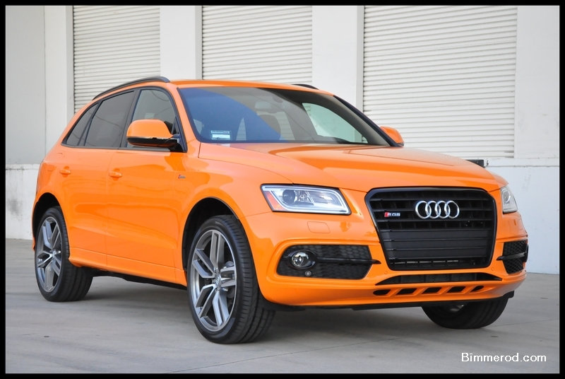 2015 Sq5 In Audi Exclusive Solar Orange